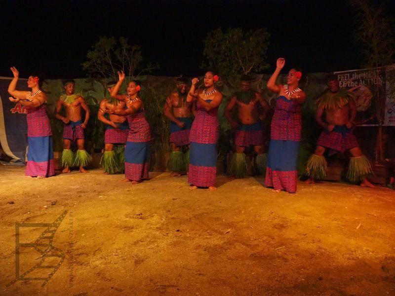 Pokazy ludowe na Samoa