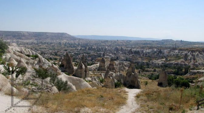 Kapadocja: Göreme, Park Narodowy z tufowymi formami