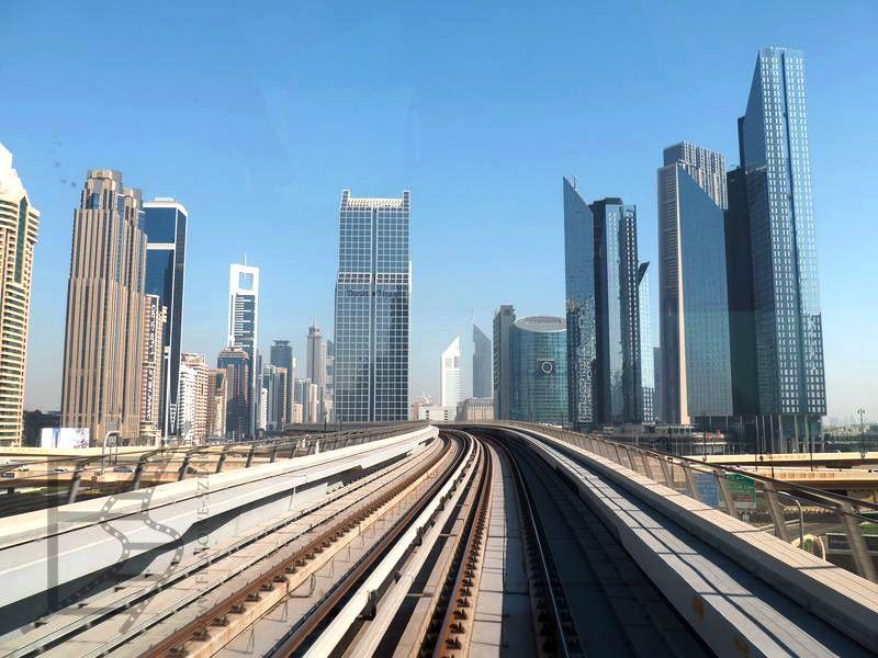 Trasa metra (Dubaj)