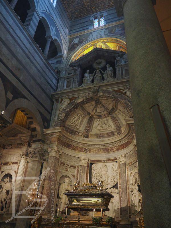 Wnętrza katedry (Piza)