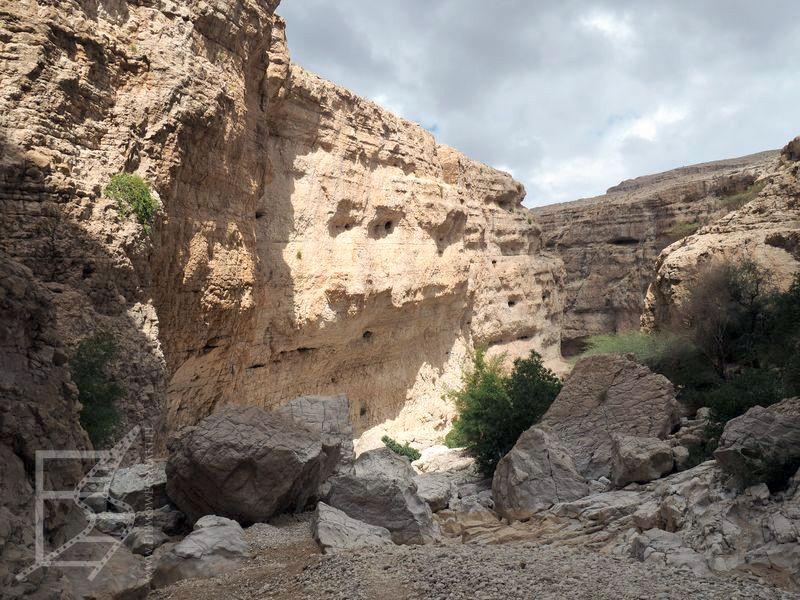 Wąwóz Wadi Bani Khalid
