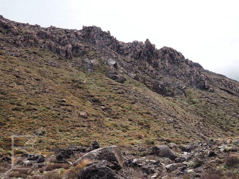 """Powulkaniczne skały """"Mordoru"""" (Tonagiro, Nowa Zelandia)"""