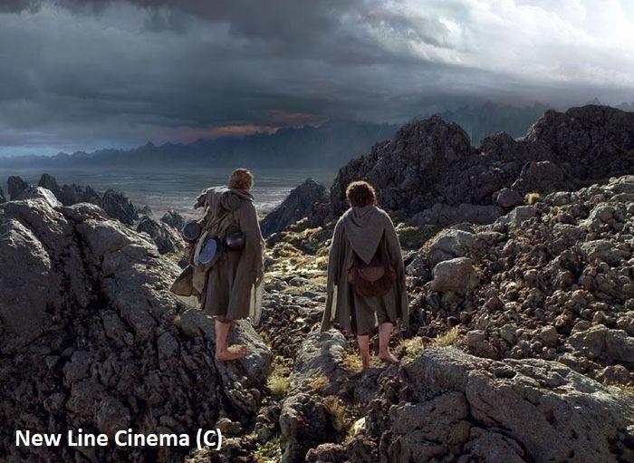 """Mordor z """"Władcy Pierścieni"""", czyli Park Narodowy Tongariro w Nowej Zelandii."""