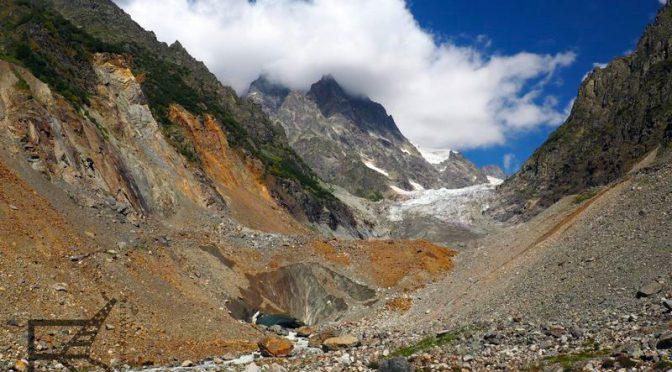 Mestia, górna Swanetia i lodowiec Chalaadi