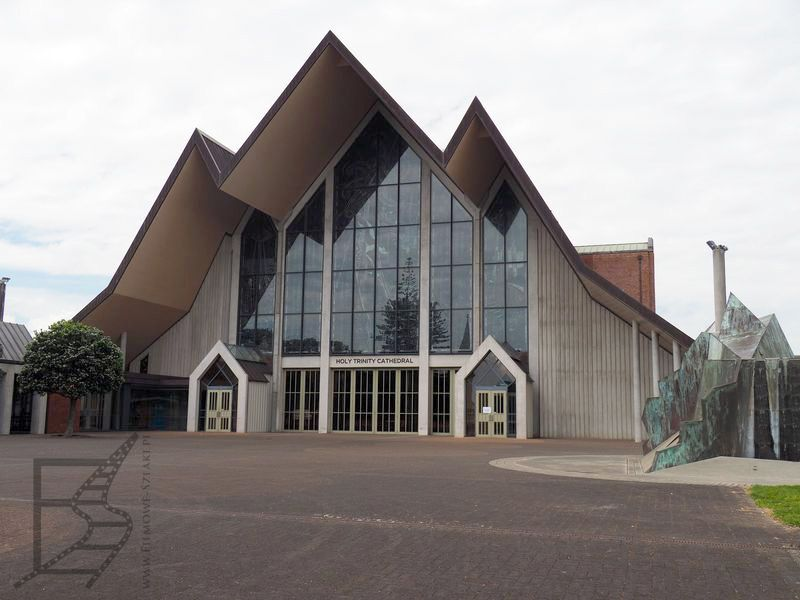Nowoczesna katedra w Auckland