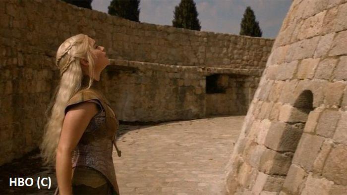 """Baszta Minčeta (Dubrownik, Chorwacja) zagrała w """"Grze o tron"""" Dom Nieśmiertelnych w Qarth."""