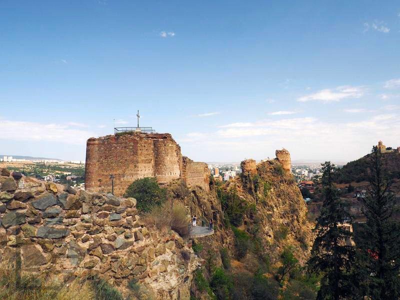 Twierdza Narikala (Tbilisi, Gruzja)