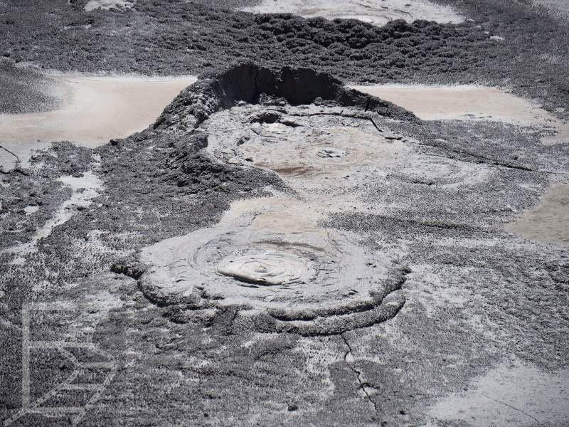 Wulkan błotny (Te Puia, Rotorua)