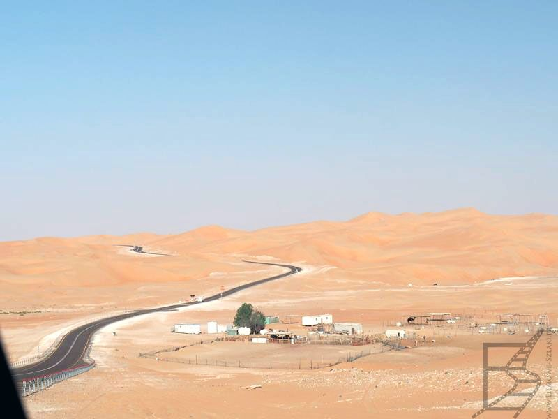 Okolice pustyni Liwia (ZEA)
