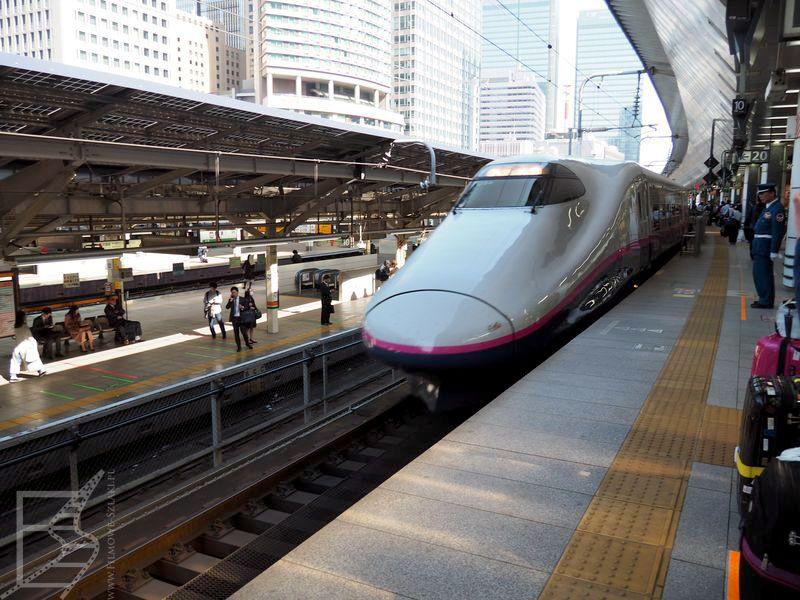 Shinkansen w Tokio