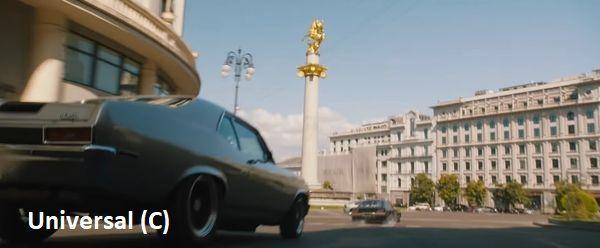 """""""Szybcy i wściekli 9"""", Tbilisi, Plac Wolności"""