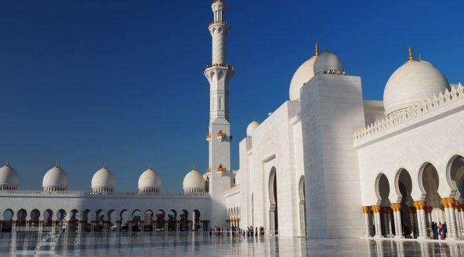 Abu Zabi (Abu Dhabi), stolica Emiratów i meczet jak z baśni