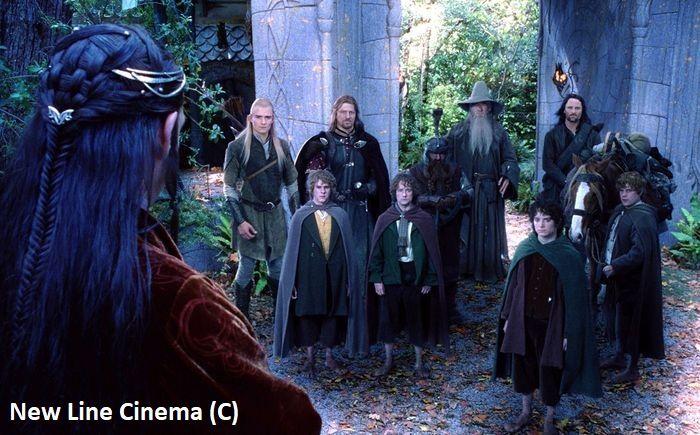"""Park Kaitoke jako Rivendell w """"Władca Pierścieni: Drużyna Pierścienia"""""""