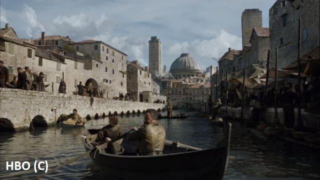 """Port w Braavos (""""Gra o tron"""") nagrywano pod Trogirem, dokładniej w Kaštel Gomilica."""