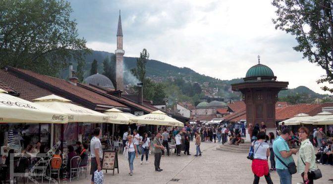 Sarajewo, Bascarsiji i studnia Sebilj