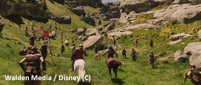 """Flock Hill i bitwa w filmie """"Opowieści z Narnii: Lew, Czarownica i Stara Szafa"""""""