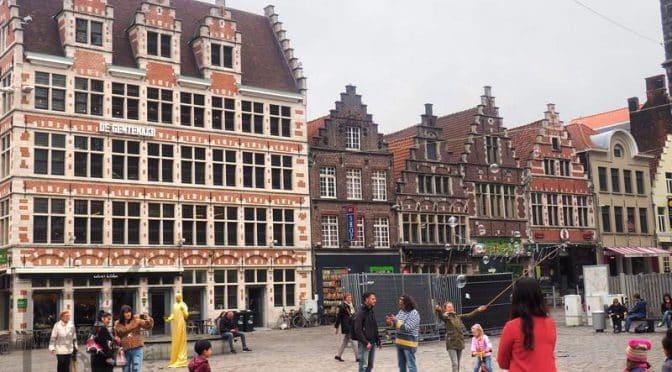 Gandawa (Gent), transport, zabytki i zwiedzanie