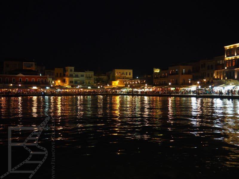 Port wenecki nocą