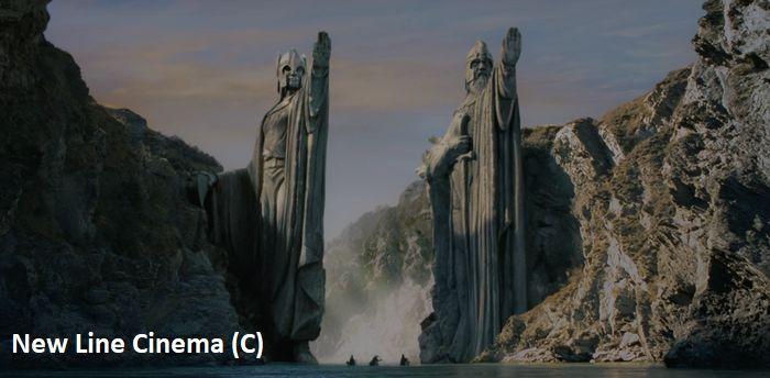 """Wąwóz Kawarau posłużył w filmie """"Władca Pierścieni: Drużyna Pierścienia"""" za Argonath na Anduinie. Zdjęcia oczywiście kręcono z perspektywy i poprawiono je komputerowo, dzięki czemu niewielki kanion wygląda dużo dostojniej."""