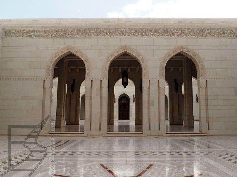 Wielki Meczet Sułtana Kabusa w Maskacie (Oman)