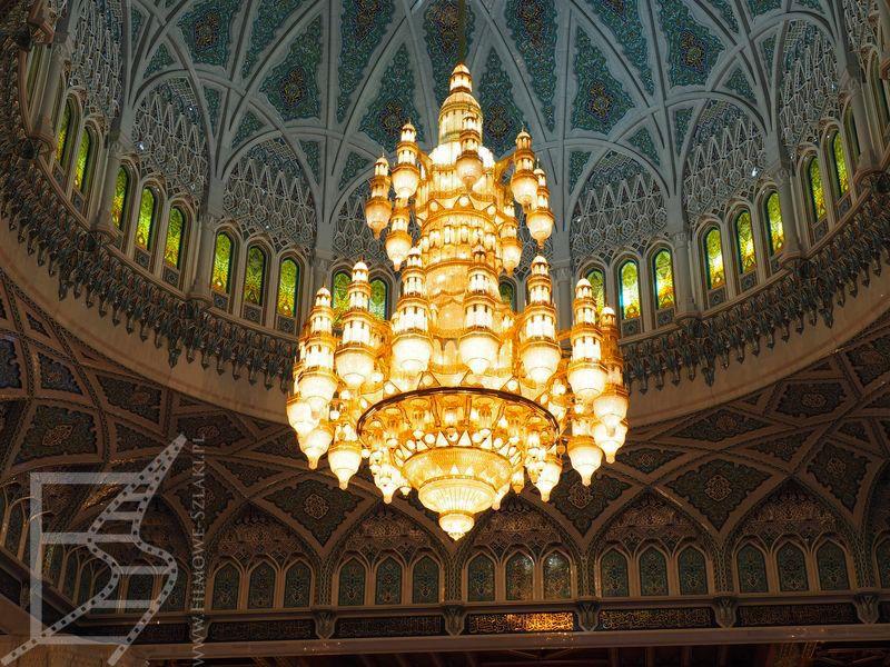 Wielki Żyrandol w Wielkim Meczecie