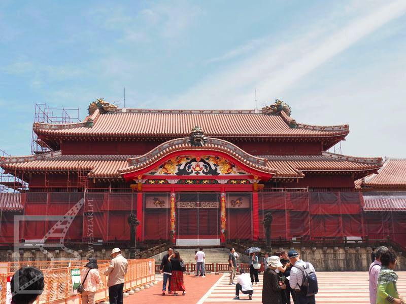 Naha - pałac królewski Riukiu