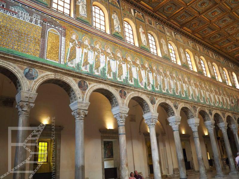 Wnętrza Nowej Bazyliki św. Apolinarego