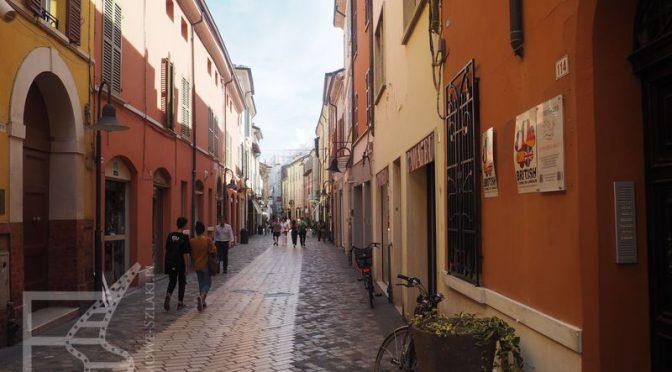 Malownicze uliczki Rawenny