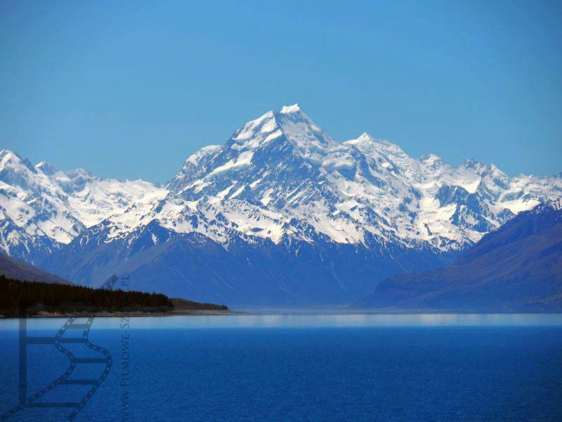 Jezioro Pukaki (i góra Cooka)