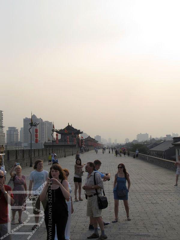 Spacer po murach Xi'anu