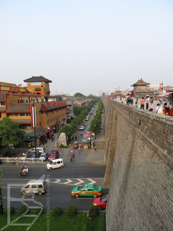 Mury w Xi'anie to dziś doskonałe miejsce spacerowe