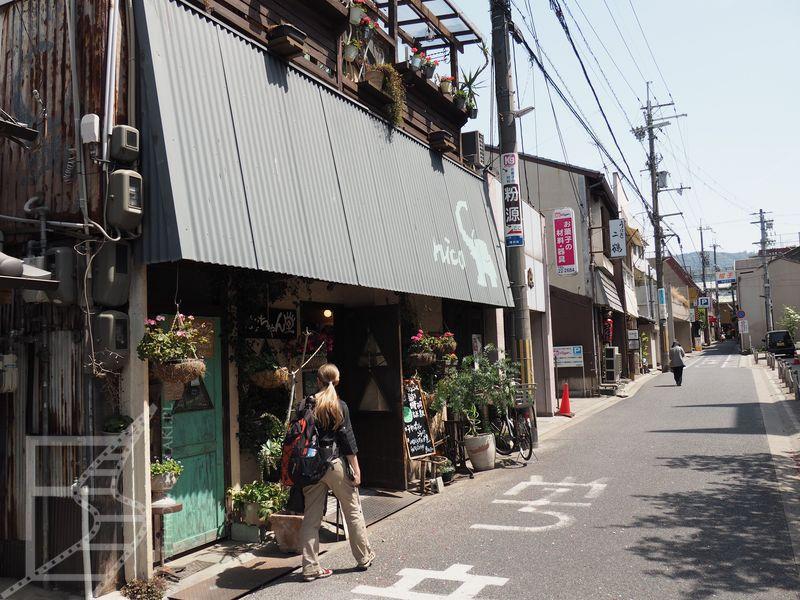 Nara, w drodze do zabytków
