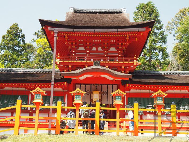 Świątynia szinto - Kasuga Taisha (Nara)