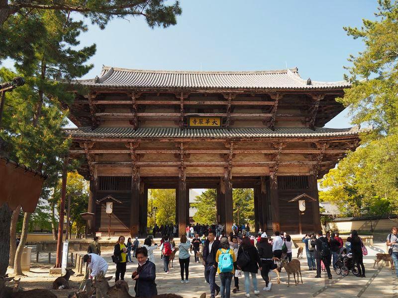 Brama w Parku Nara