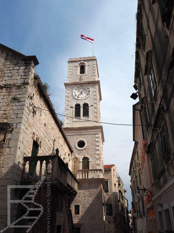 Wieża przy kościele św. Jana (Szybenik, Chorwacja)