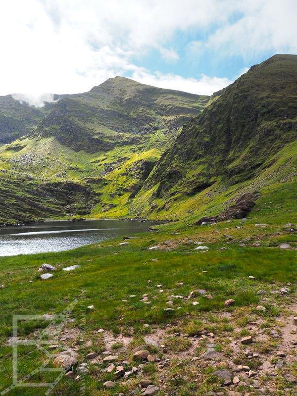 Krajobraz MacGillycuddy's Reek