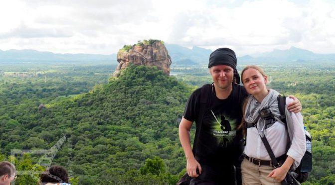 Pidurangala: Widok na Sigiriję
