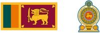 Flaga i herb Sri Lanki (za wikipedia.org)