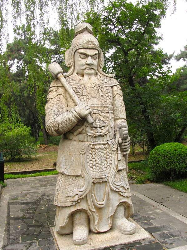 Mandaryn (Grobowce Mingów, Chiny)