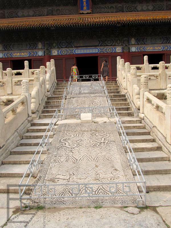 Schody, w częścią dla cesarza