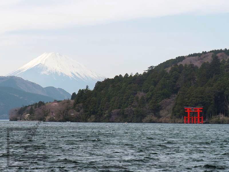 Fudżi, jezioro Ashi i Hakone