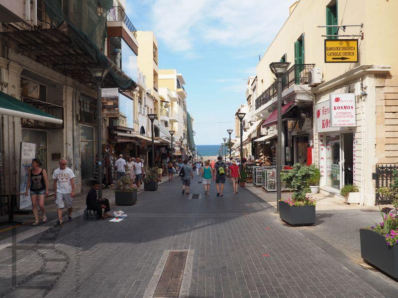 Deptak, ulica 25 sierpnia (Heraklion)