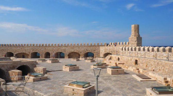 Heraklion, forteca i muzeum archeologiczne na Krecie