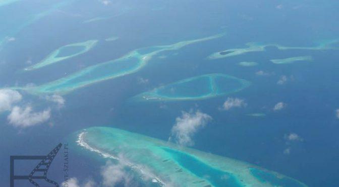 Malediwy z samolotu