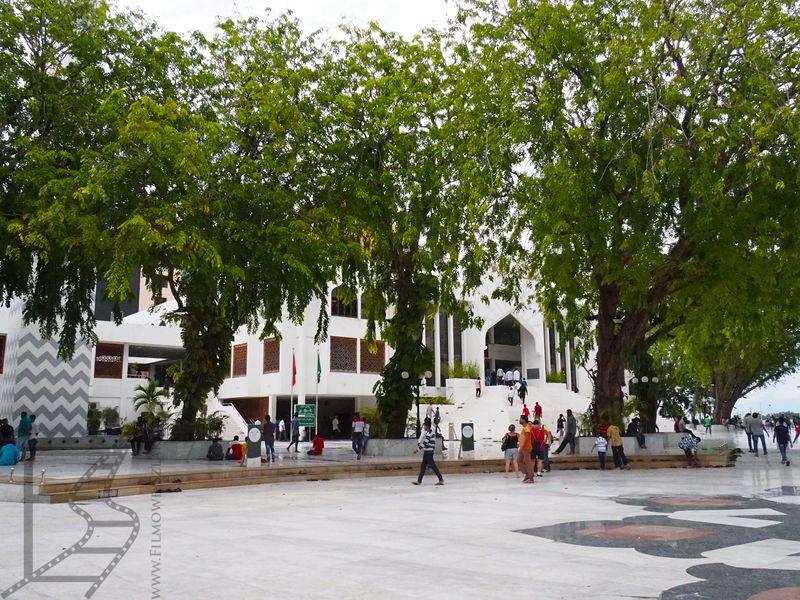 Male, okolice meczetu piątkowego