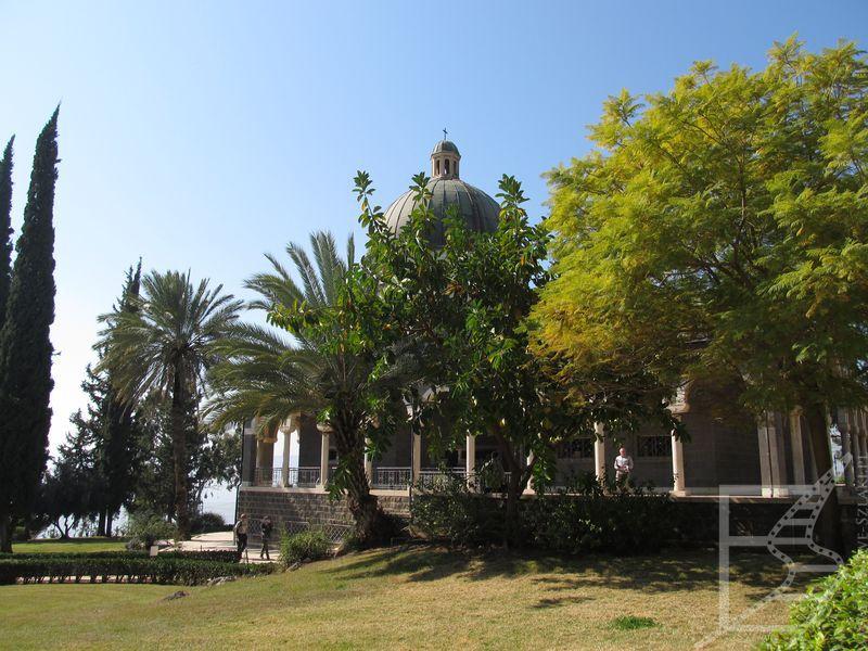 Sanktuarium na Górze Błogosławieństw