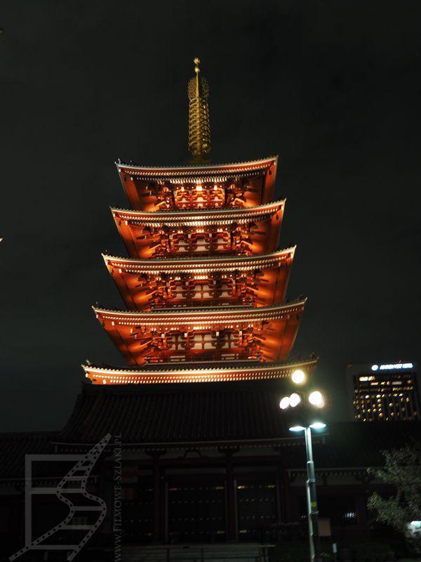 Pagoda w Sensō-ji