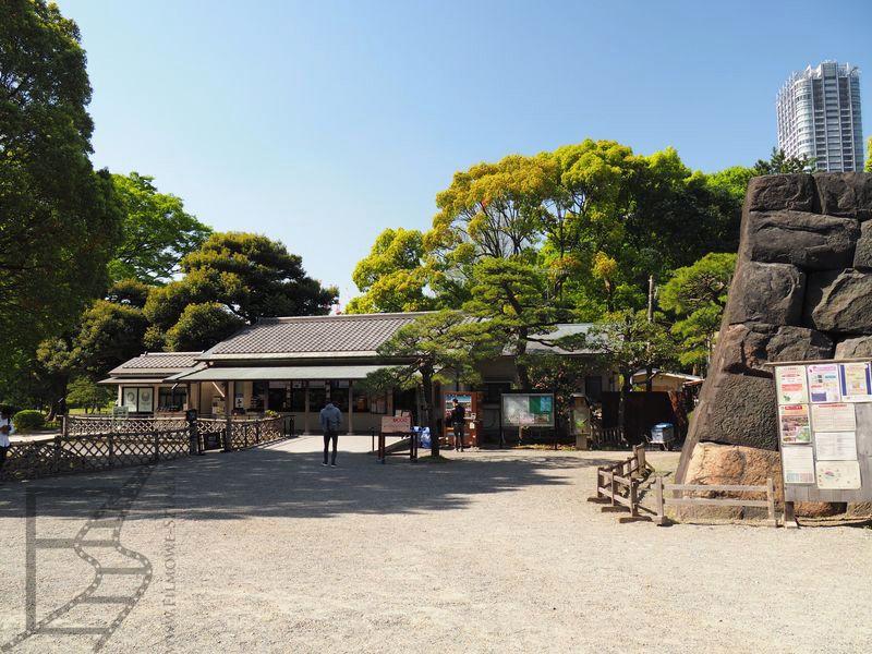Ogrody Hamarikyū, Tokio