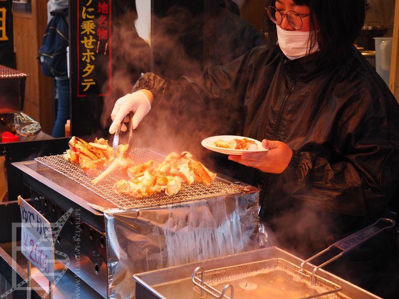 Słynny targ rybny Tsukiji w Tokio