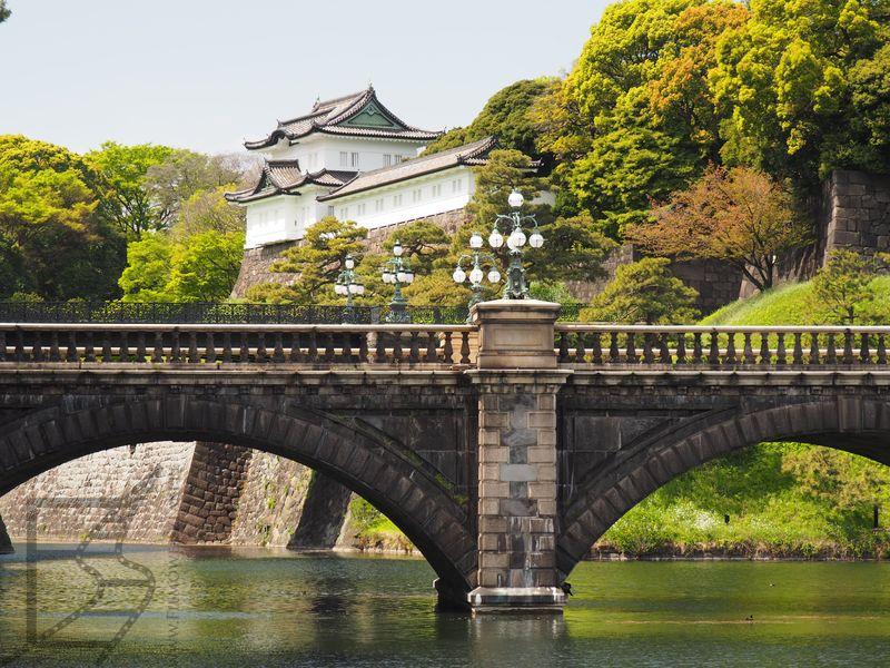 Kamienny most przy pałacu cesarskim